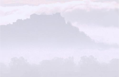 Stirling Castle - misty winter's morning. Click to zoom-in - 6k